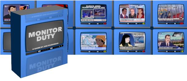 Monitor Duty Card game